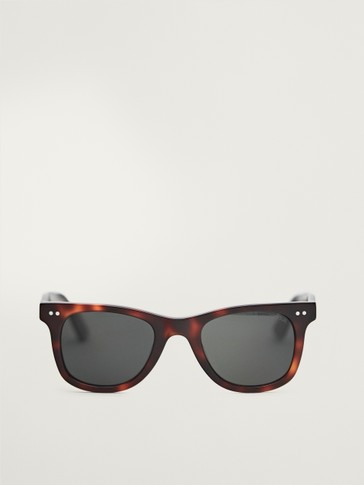 Plastic carey sunglasses