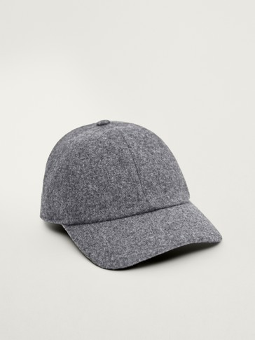 Wool flannel cap