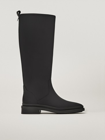 LEATHER WELLIES