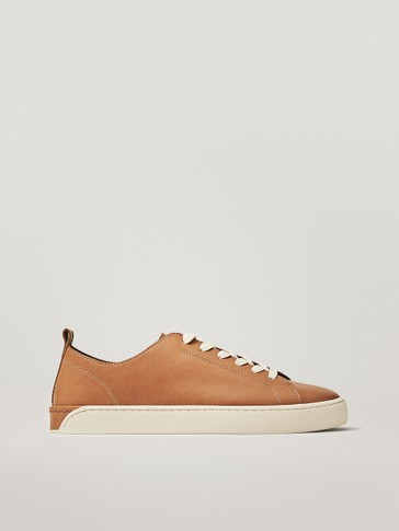NAPPA LEATHER TRAINERS