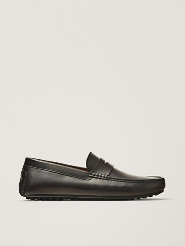 LOAFERS ESCOVADOS CASTANHOS