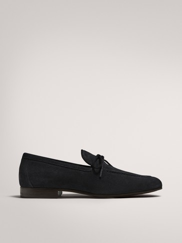 BOLOGNA SPLIT SUEDE LOAFERS
