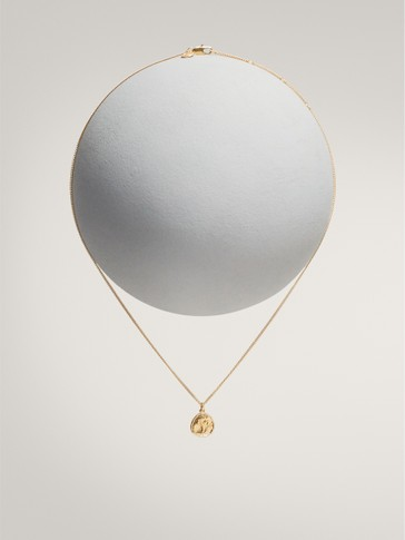 GOLD-PLATED ARIES HOROSCOPE NECKLACE