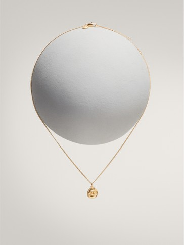 GOLD-PLATED CANCER HOROSCOPE NECKLACE
