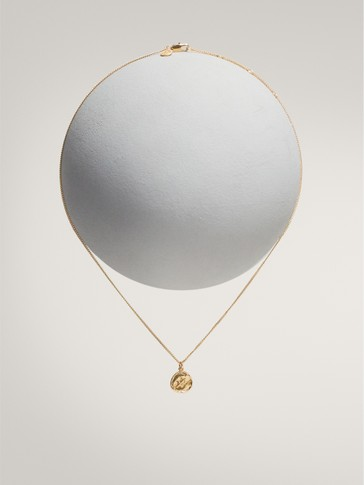 GOLD-PLATED SAGITTARIUS HOROSCOPE NECKLACE