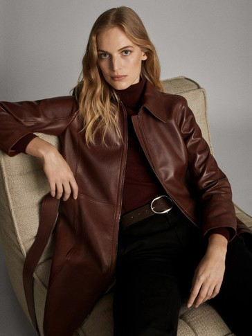 NAPPA TRENCH-STYLE JACKET WITH BELT