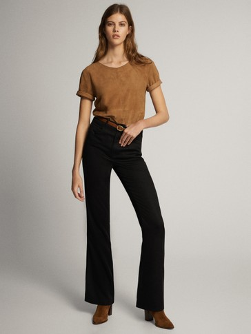 LOOSE-FITTING LYOCELL TROUSERS