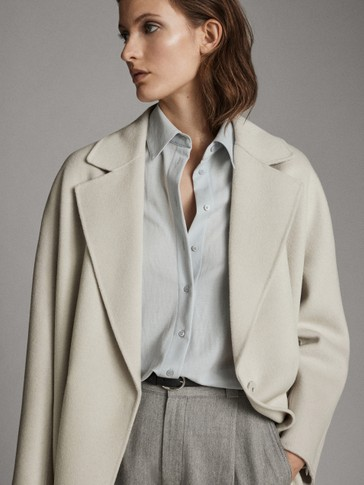 BUTTON-UP SHIRT WITH BACK YOKE