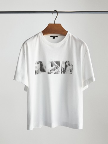 T-SHIRT FEATURING JANE BIRKIN PHOTO