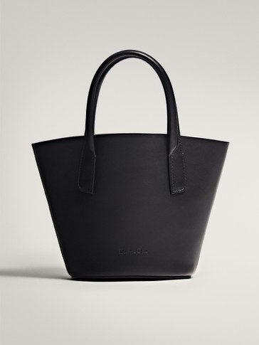 MINI LEATHER TOTE BAG
