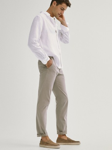 REGULAR FIT CHINOS