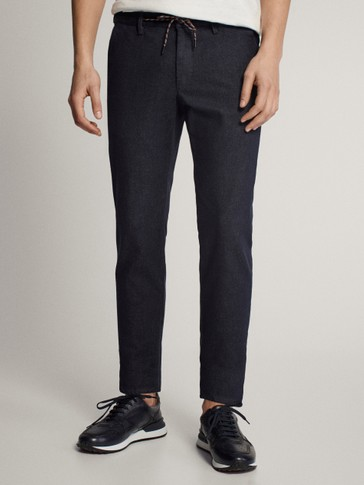 PANTALÓN CHINO DENIM SLIM FIT