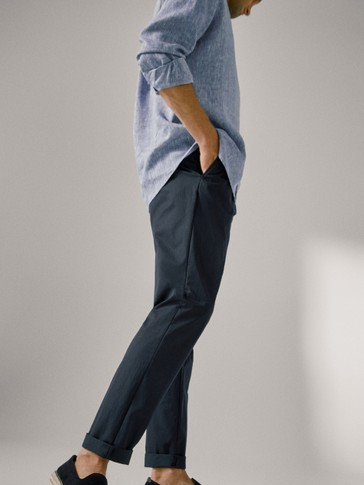 PANTALONI CHINO TEHNICI LEISURE FIT LIMITED EDITION