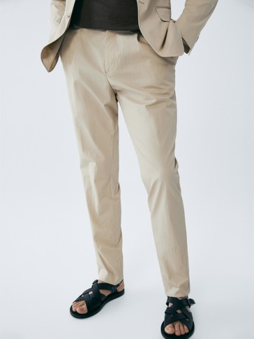 PANTALONI CHINO TECNICI LEISURE FIT LIMITED EDITION