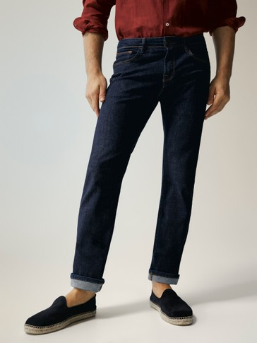 ENTBASTETE REGULAR-FIT-JEANS