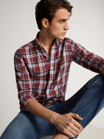 CAMISA QUADRES LLI SLIM FIT