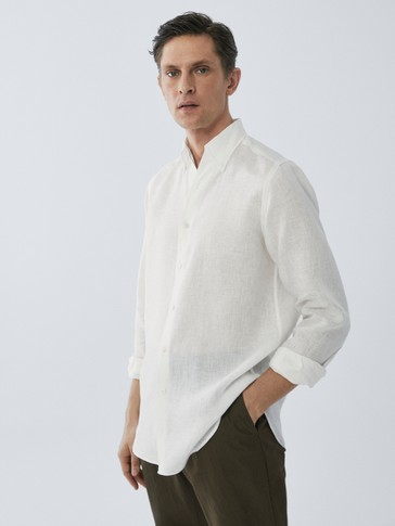 LIMITED EDITION REGULAR FIT LINEN SHIRT