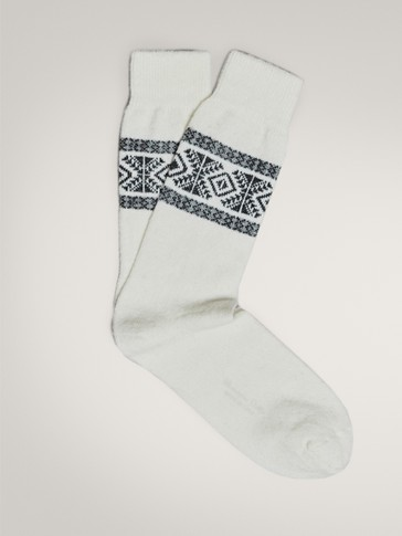 JACQUARD CHRISTMAS SOCKS