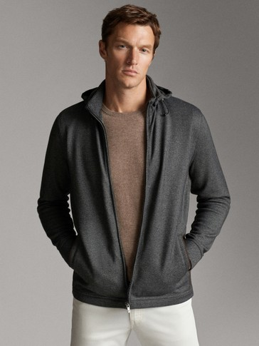 ZIP JACKET WITH HOOD