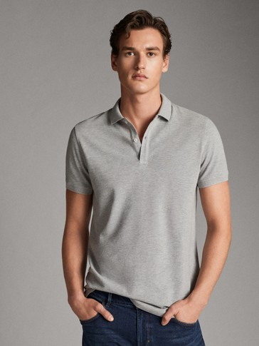 MARL COTTON POLO SHIRT