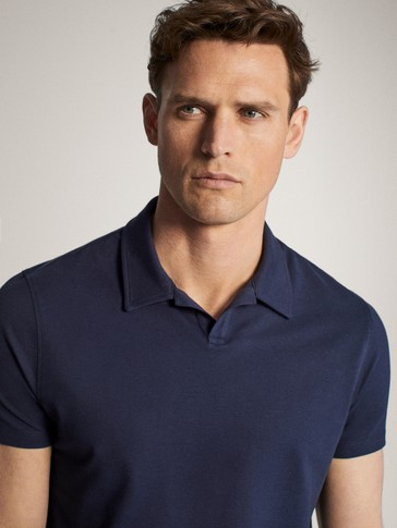 COTTON PIQUÉ SHORT SLEEVE POLO