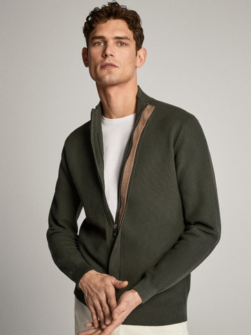 ZIPPED CARDIGAN