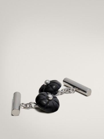 CUFFLINKS WITH STONES