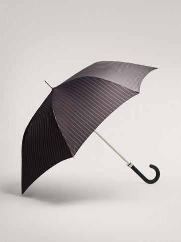 LONG PINSTRIPE UMBRELLA