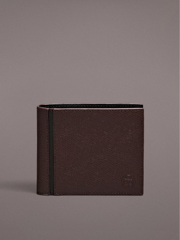 TUMBLED NAPPA LEATHER WALLET