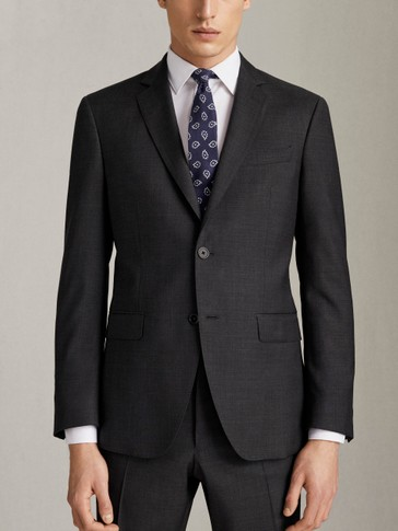 SLIM FIT 100% SUPER 130'S WOOL BLAZER
