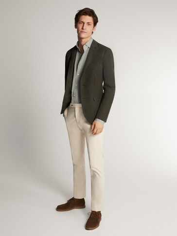 CASUAL FIT STRETCH BLAZER