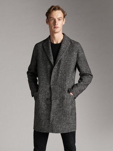 Wool Coat by Massimo Dutti