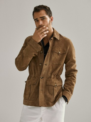 LIMITED EDITION SUEDE SAFARI JACKET