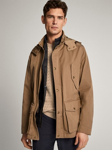 JACKET WITH REMOVABLE GILET