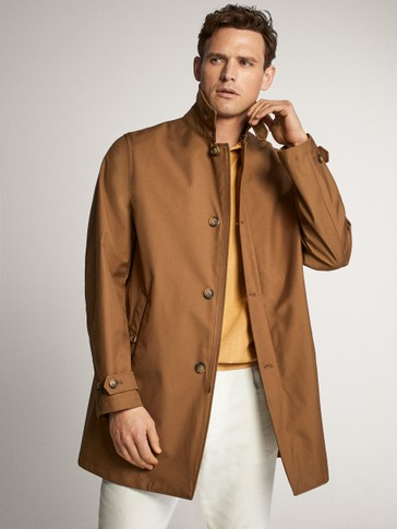 TRENCH-STYLE JACKET
