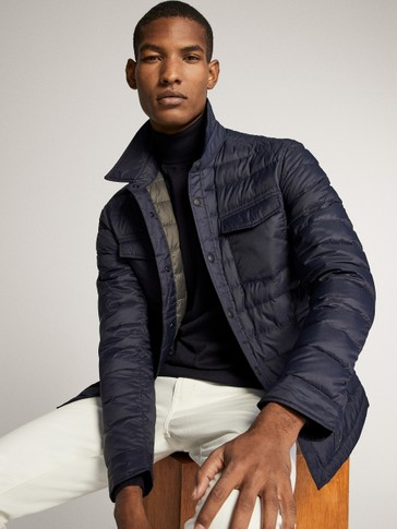 EXTRA LIGHT QUILTED DOWN JACKET