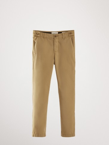 CHINOS WITH SIDE POCKET