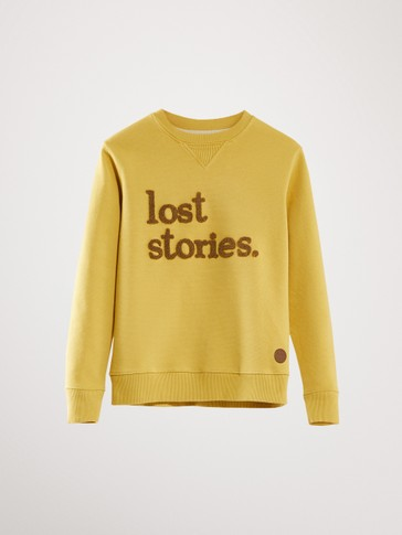 'LOST STORIES' COTTON SWEATSHIRT