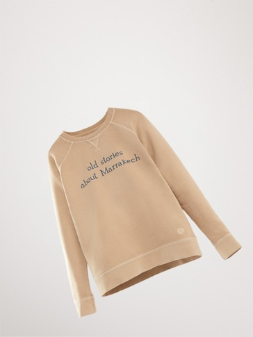 'MARRAKECH' COTTON SWEATSHIRT