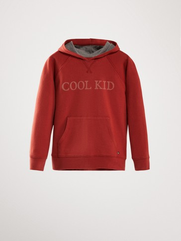 COOL KID COTTON HOODIE