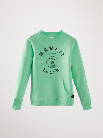 'HAWAII' COTTON SWEATSHIRT