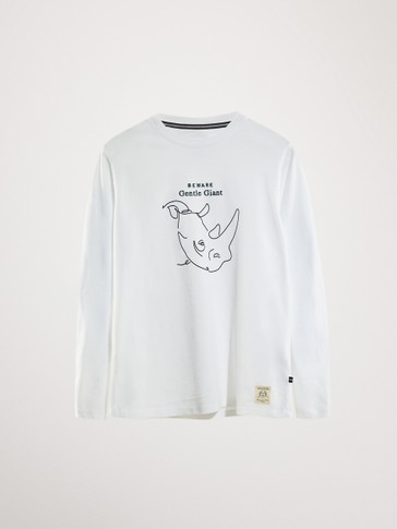 RHINO COTTON LONG SLEEVE T-SHIRT