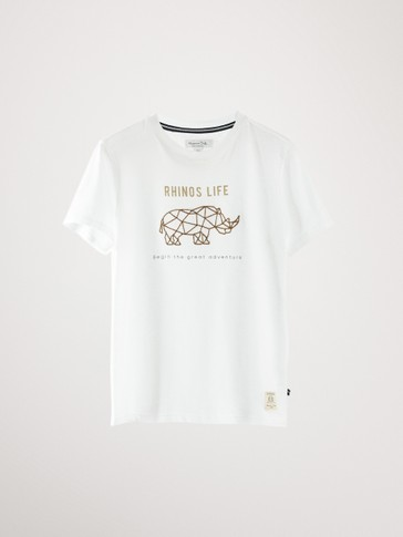 RHINOS LIFE COTTON T-SHIRT