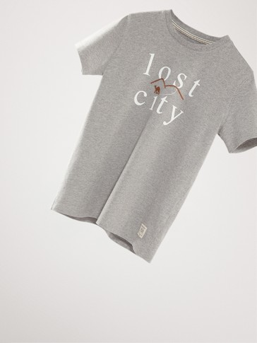 CAMISETA ALGODÓN LOST CITY