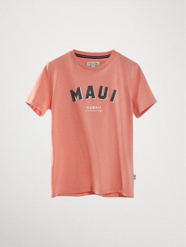 'MAUI' COTTON T-SHIRT