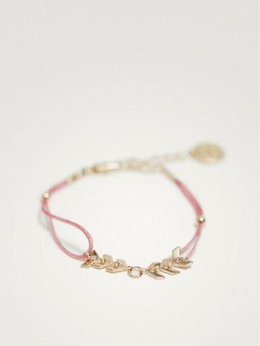 PACK OF PINK ARROW BRACELETS