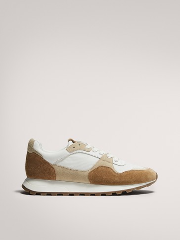 TRACK SOLE TRAINERS