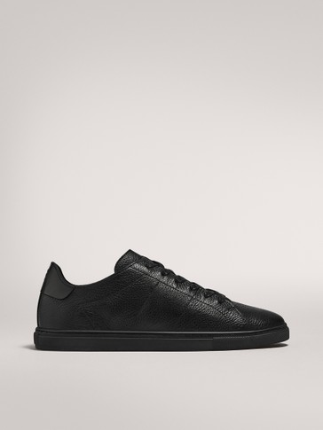 SOFT BLACK MONOCHROME TRAINERS