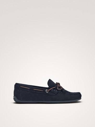 SOFT BLUE LOAFERS