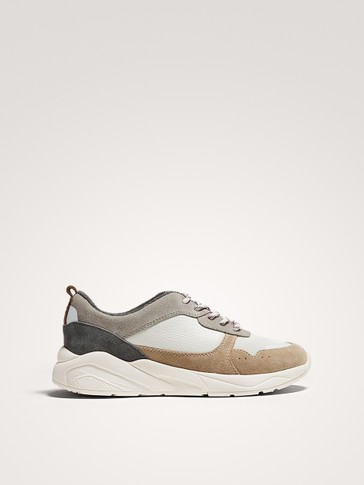 CONTRAST NEUTRAL TRAINERS